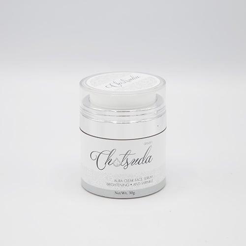 ฉัตรสุดา เดอ อัมพวา Aura clear face serum size mini ( 1ชิ้น)