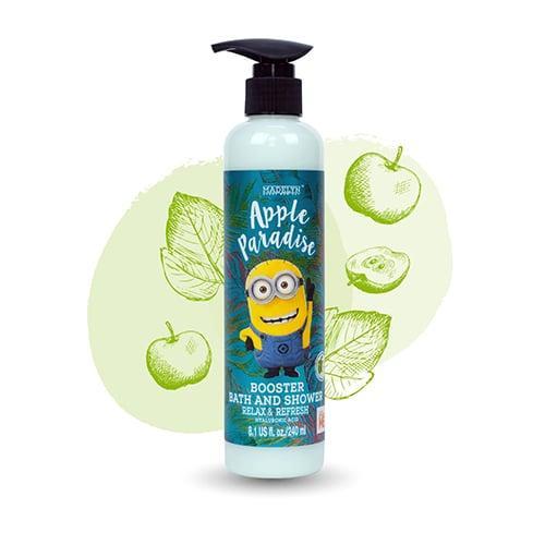 เมดเดอร์ลีน มินเนี่ยน ครีมอาบน้ำ กลิ่นแอปเปิ้ล 240 มิลลิลิตร ปราศจาก SLS Parabenและ Lanolin
