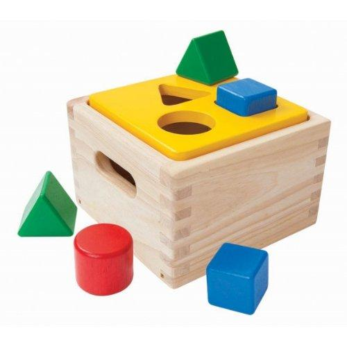 ของเล่นเด็ก กล่องหยอดเรขา (SHAPE & SORT IT OUT)