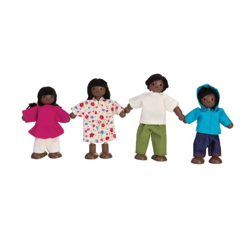 ของเล่นเด็ก ครอบครัวตุ๊กตา(อเมริกัน) (DOLL FAMILY (AFRO - AMERICAN)