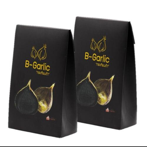 B-Garlic กระเทียมดำ ขนาด 100 กรัม 2 กล่อง
