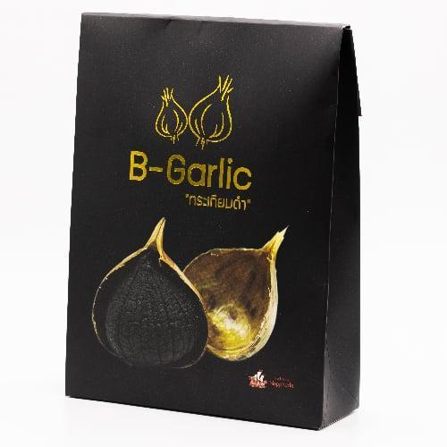 B-Garlic กระเทียมดำ ขนาด 500 กรัม 1 กล่อง