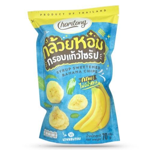 กล้วยหอมกรอบแก้วไซรัป 3 ซอง (ราคาขายรวมค่าจัดส่งแล้ว)