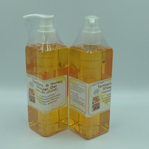เจลอาบน้ำขมิ้นน้ำผึ้ง