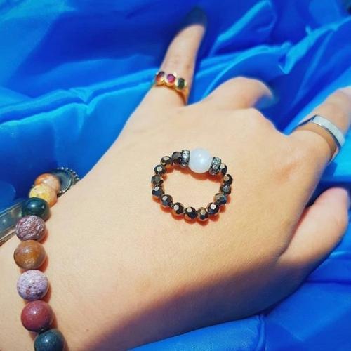 แหวน Moon in a day ความรัก size M 15-16 cm