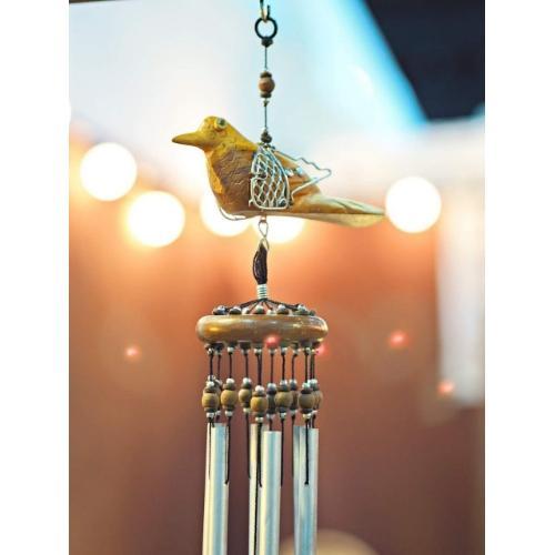 โมบายฮวงจุ้ย นก เสริมดวงด้านความสุข ช่วยปกป้องคุ้มครอง