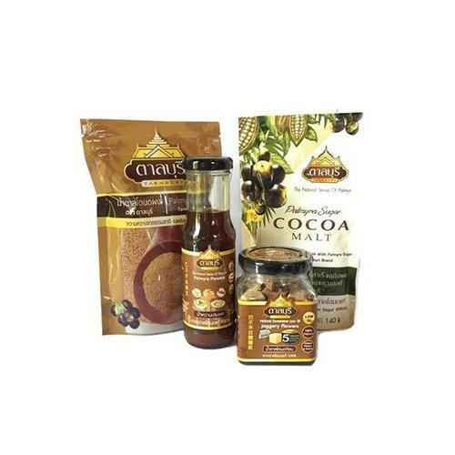 ผลิตภัณฑ์น้ำตาลโตนดแท้จากธรรมชาติ SET1