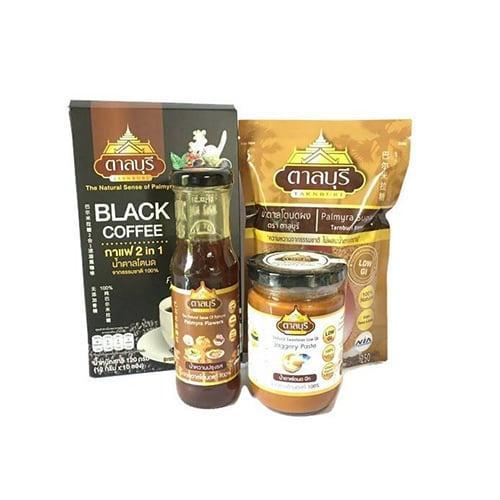 ผลิตภัณฑ์น้ำตาลโตนดแท้จากธรรมชาติ SET5