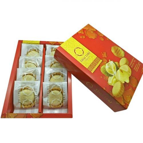 ทาร์ตทุเรียน ไทยทาร์ต หอมหวานอร่อย ไส้แน่น 1 กล่อง