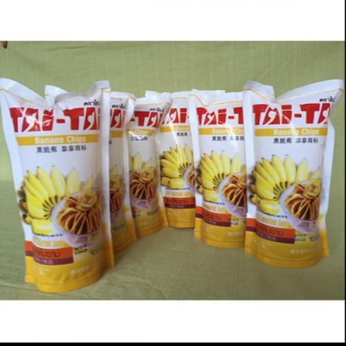 กล้วยอบกรอบสอดไส้มะขาม ตราไท ไท