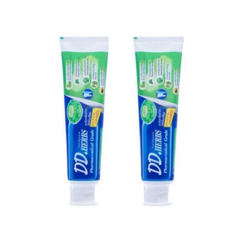 ยาสีฟันสมุนไพร ดีดีเฮิร์บ สูตรออริจินอลพีเมี่ยม 2 หลอด