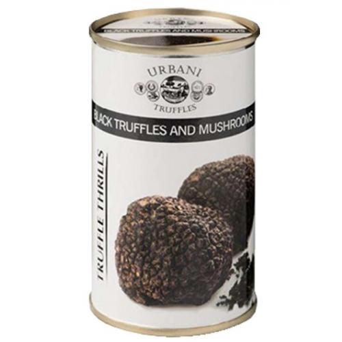 ซอสเห็ด และ ซอสเห็ดแบลคทรัฟเฟิล Black Truffle and Mushroom Sauce