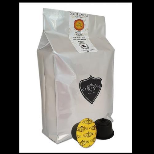 แคปซูลกาแฟ CAFE R'ONN อาราบิก้า100% คั่วเข้ม 30 แคปซูล/ถุง สามารถใช้ร่วมกับเครื่อง DOLCE GUSTO * ได้