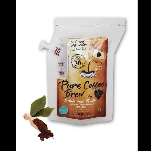 กาแฟบด Coffee Brew Bag by CAFE R'ONN อาราบิก้า 100% ถุง 30 กรัม คั่วอ่อน (3แก้ว/ถุง)