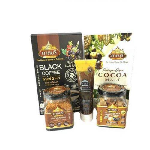 ผลิตภัณฑ์น้ำตาลโตนดแท้จากธรรมชาติ SET4 (ของขวัญไปรษณีย์)
