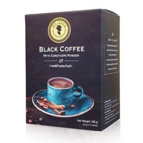 กาแฟดำผสมถังเช่า มิสเตอร์ ที แบล็ค คอฟฟี่ จำนวน 3 กล่อง (โปรโมชั่น) (ของขวัญไปรษณีย์)