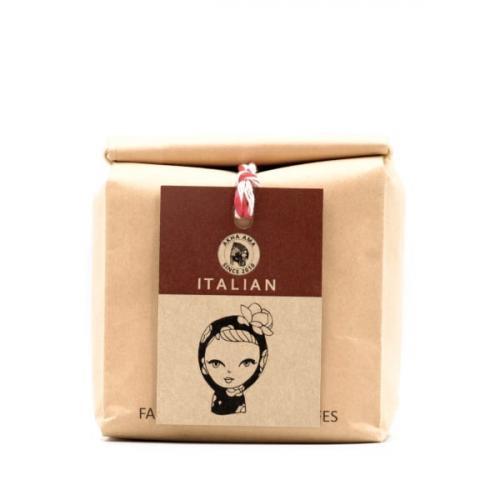akha ama coffee เมล็ดกาแฟคั่วกลาง Italian 250 กรัม บด