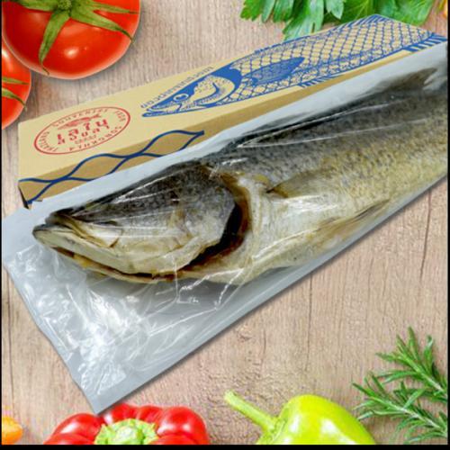 ปลากะพงเค็มสามน้ำ เลในสงขลา