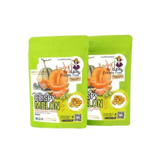 เมล่อนกรอบ Crispy Melon รส Original 12 กรัม (50ถุง/ลัง)
