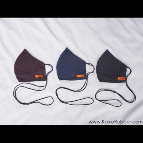 หน้ากากผ้า รุ่น Stopper แผ่นกรองยางพารา ซื้อ 2 แถม 1