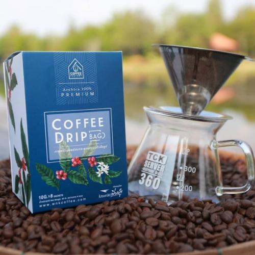 กาแฟดริป Arabica Premium Coffee Drip (80 กรัม) 2 กล่อง แถม 1 กล่อง